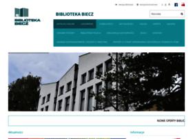 biblioteka.biecz.pl
