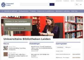 bibliotheek.leidenuniv.nl