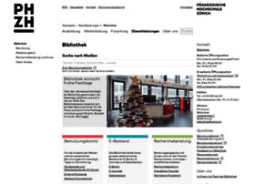 bibliothek.phzh.ch
