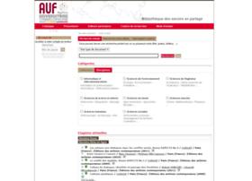 bibliotheque.auf.org