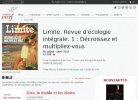 bibliotheque.editionsducerf.fr