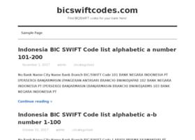 bicswiftcodes.com