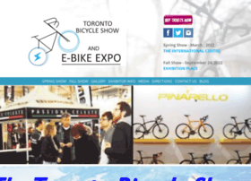 bicycleshowtoronto.com