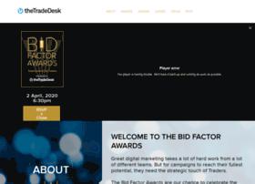 bidfactorawards.com