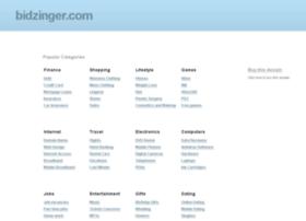bidzinger.com