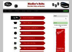 biedlers-belts.com