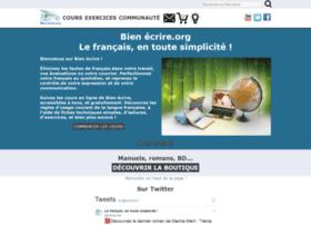 bienecrire.org