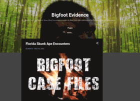 bigfootevidence.blogspot.com.au
