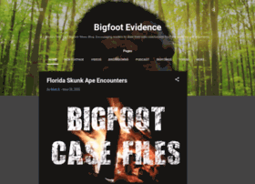 bigfootevidence.blogspot.pt