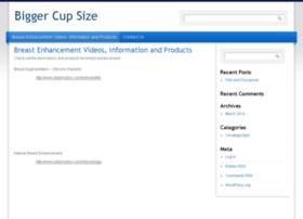 biggercupsize.com