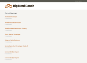 bignerdranch.theresumator.com
