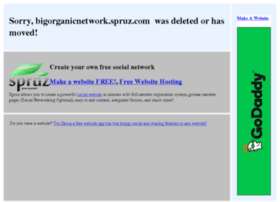 bigorganicnetwork.spruz.com