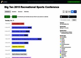 bigtenrecreationalsportscon2015.sched.org