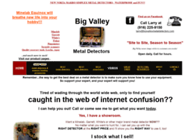 bigvalleymetaldetectors.com