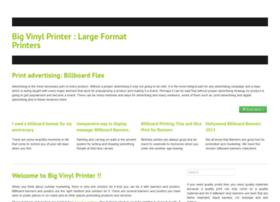 bigvinylprinter.com