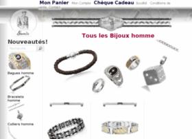bijoux-homme.guenita.fr