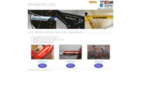 bikenames.com