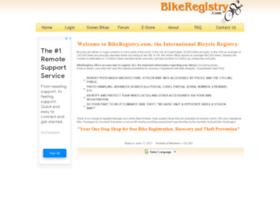 bikeregistry.com