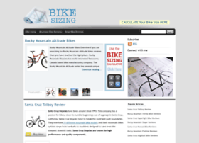 bikesizing.net