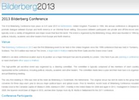 bilderberg2013.co.uk