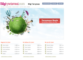 bilgiyarismasi.com