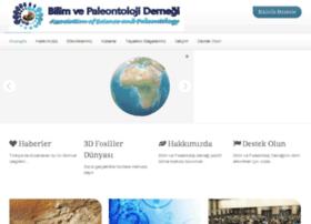 bilimvepaleontoloji.com