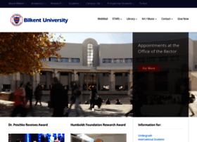 bilkent.edu.tr