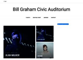 billgrahamcivicauditorium.com