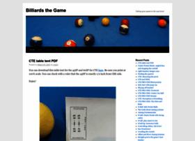 billiardsthegame.com