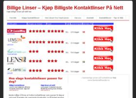 billigstelinser.com