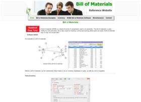 billofmaterials.net