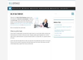 billofsale-template.com