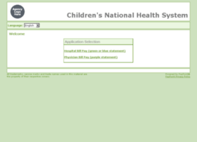 billpay.childrensnational.org