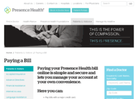 billpay.presencehealth.org