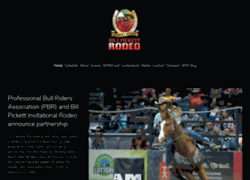 billpickettrodeo.com