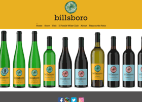 billsborowinery.com