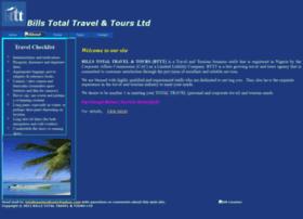 billstotaltravelandtours.com