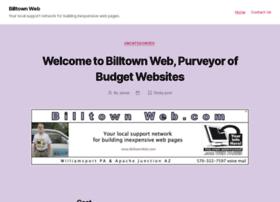 billtownweb.com