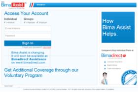 bimaassist.bimadirect.com