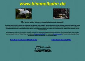 bimmelbahn.de