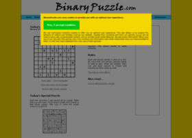 binarypuzzle.com