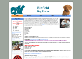 binfield.dogrescues.org