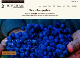 binghamfamilyvineyards.com