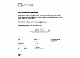 binlist.net