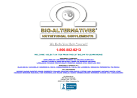 bio-alternatives.net