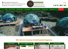 bioandeanexpeditions.com
