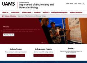 biochemistry.uams.edu