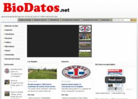 biodatos.net
