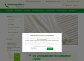 bioeinweggeschirr.de
