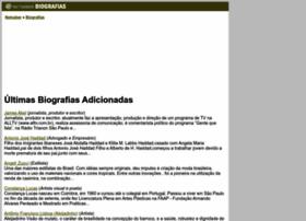 biografias.netsaber.com.br